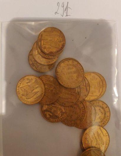 20 francs IIIème République (type Génies)...