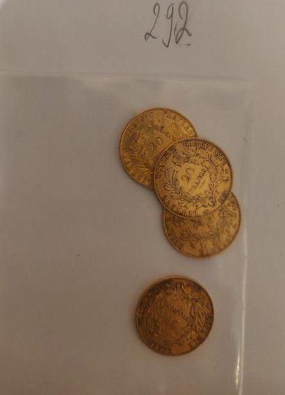 20 francs IIème République (type Cérès) :...