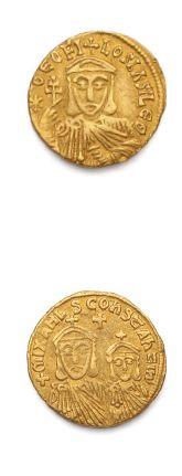 THÉOPHILE (829-842) Solidus. Constantinople....