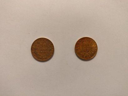 Italie: 20 lire 1878 (Victor Emmanuel II)...