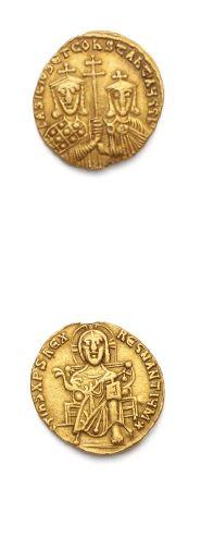 LOT: Solidus: 3 exemplaires. Phocas (602-610)...