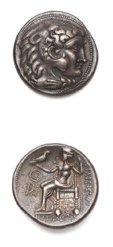 CELTES du DANUBE Tétradrachme au nom de Philippe III de Macédoine (323-3216 av....