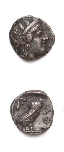 ATTIQUE: Athènes (454-404 av. J.-C.) Tétradrachme....