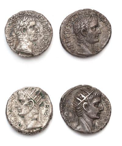 Tétradrachme colonial: 3 exemplaires. Alexandrie...