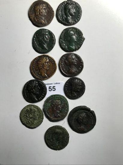 Moyen bronze: 12 exemplaires. Hadrien (2...