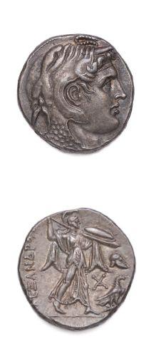 ÉGYPTE Ptolémée Ier (323-285 av. J.-C.) Tétradrachme....