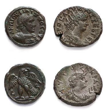 Antoninien: 15 exemplaires variés de Caracalla...