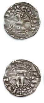 LOUIS VI (1108-1137) Denier de Dreux. D....