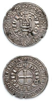 LOUIS IX, Saint Louis (1226-1270) Gros tournois....