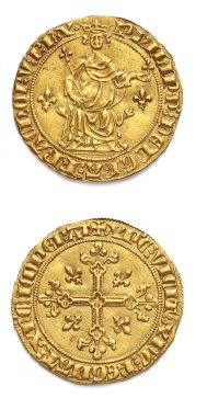 PHILIPPE IV, le Bel (1285-1314) Florin d'or...