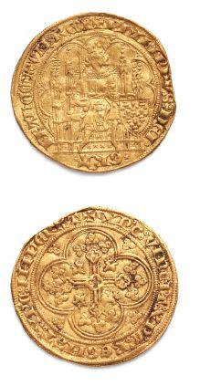 Écu d'or à la chaise. 4,46 g. D. 249. TB...