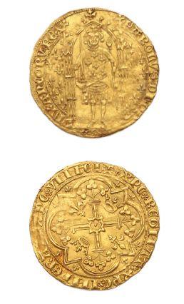 Franc à pied. 3,77 g. D. 360. TTB.