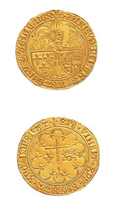 Salut d'or. Saint-Lô. 3,50 g. D. 443A. S...