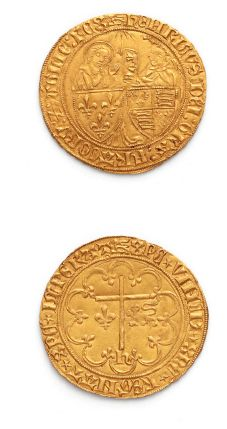 Salut d'or. Rouen. 3,50 g. D. 443A. Presque...
