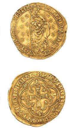 CHARLES VII (1422-1461) Royal d'or. La Rochelle....