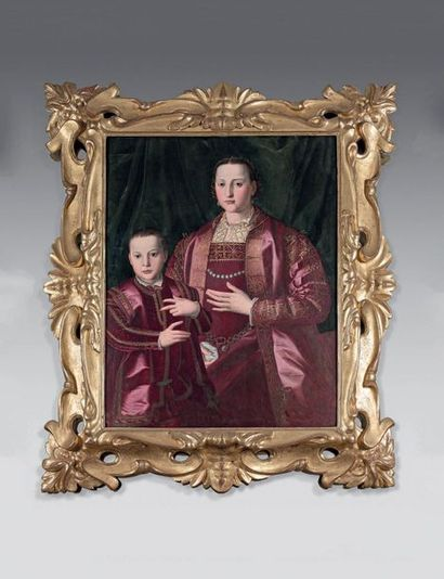 Atelier de Angelo di C. ALLORI dit BRONZINO (1503-1572)