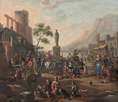 Entourage d'Antoine GOUBAU (1616-1698)