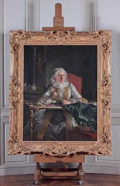 Atelier de Jacques André Joseph AVED (1702-1766)