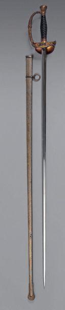 Epée d'officier toutes armes modèle 1817...