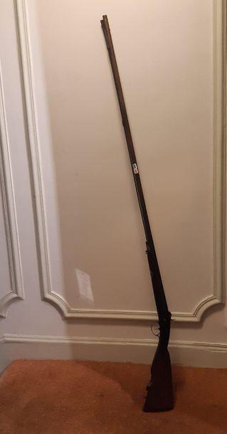 Fusil de chasse canardier, à percussion....