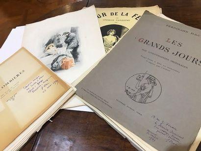 Ensemble d'illustrations de livres par Passeron,...