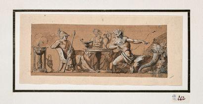 Attribué à Louis LAFITTE (1770-1828)