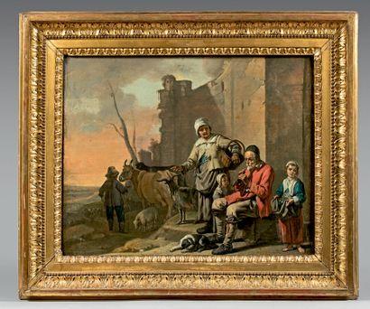 ÉCOLE FRANÇAISE du début du XVIIe siècle, attribué au «Maître aux béguins»