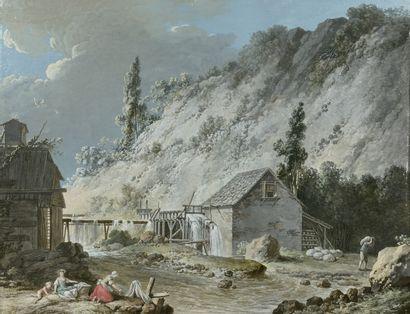 JEAN-JACQUES LE BARBIER L'AÎNE (1738-1826)