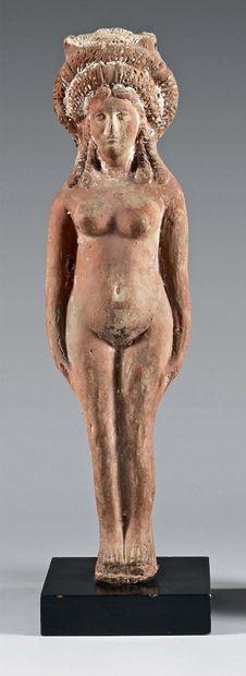 Grande statuette représentant la déesse Isis-Aphrodite...