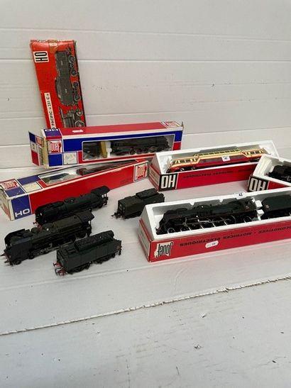 JOUEF: motrices et locomotives dont, 231...