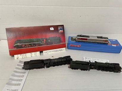 JOUEF: boite HJ 2123 comprenant 2 locomotives...