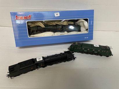 JOUEF: motrices et locomotives dont, 141...