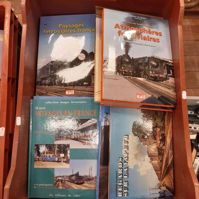 Lot de livres ferroviaires dont VILLAIN –...