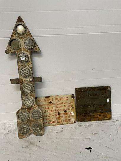 Signal CROIX de St ANDRE –flèche et sifflet...