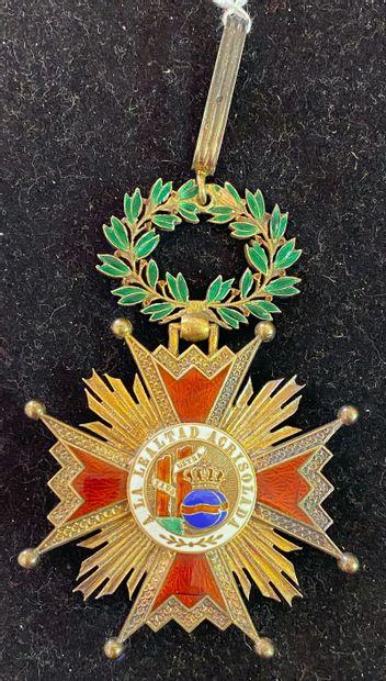 Espagne - Ordre d'Isabelle la Catholique,...