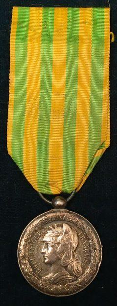 Médaille du Tonkin, 1883-1885, modèle pour...