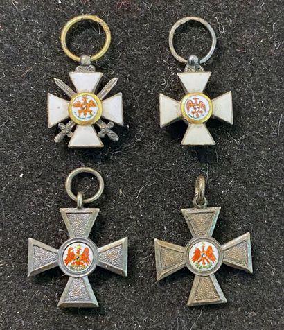 Allemagne, royaume de Prusse - Ordre de l'Aigle...