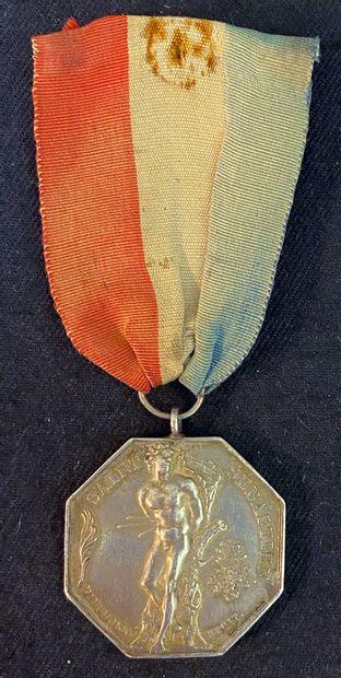 Second Empire - Compagnie d'archer, médaille...
