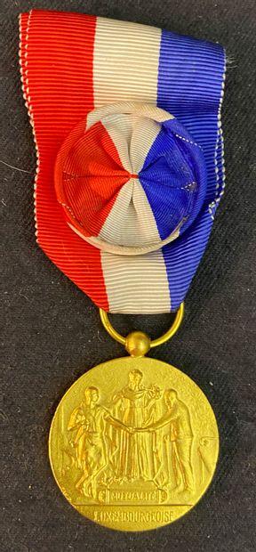 Luxembourg - Médaille de la Fédération nationale...