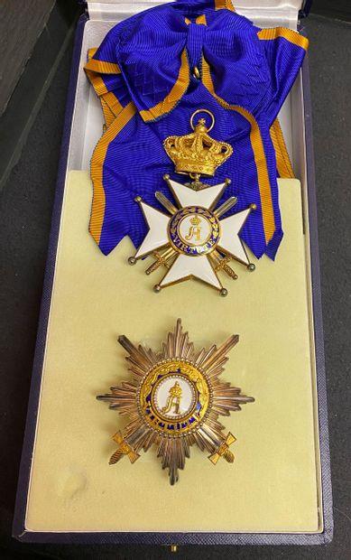 Luxembourg - Ordre du Mérite civil et militaire...