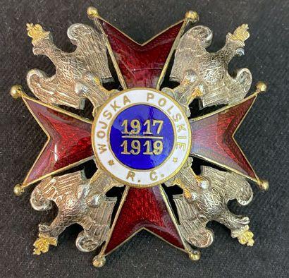Pologne - Insigne commémoratif des troupes...