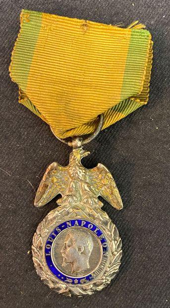 Médaille militaire, 2e type en argent, vermeil...