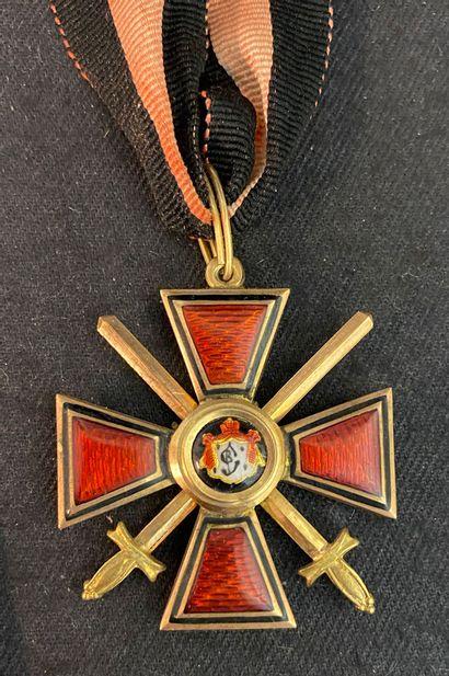 Russie - Ordre de Saint-Vladimir, fondé en...