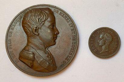 Majorité d'Henri V, 29 septembre 1833, lot...