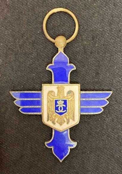 Roumanie - Ordre du Mérite aéronautique,...