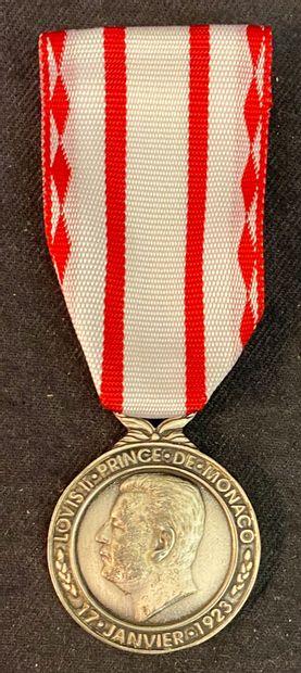 Monaco - Médaille du Travail, 1re classe...