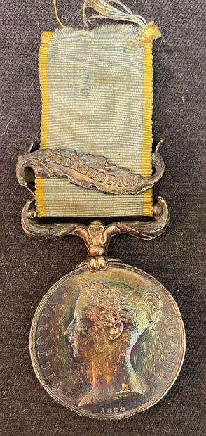 Royaume-Uni, médaille de la Guerre de Crimée,...