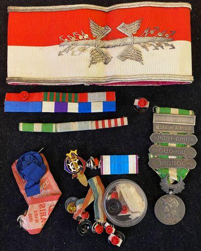 Médaille du Maroc, 1909 en argent, ruban...