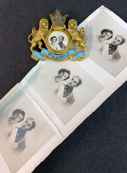 Perse / Iran - Bijou commémoratif du mariage...