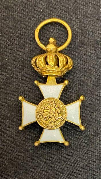 Monaco - Ordre des Grimaldi, fondé en 1954,...